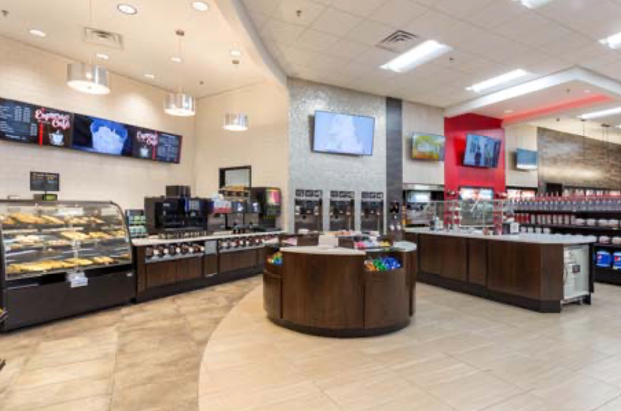 Royston food & beverage counters