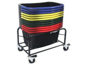 Rolling Stand with Baskets