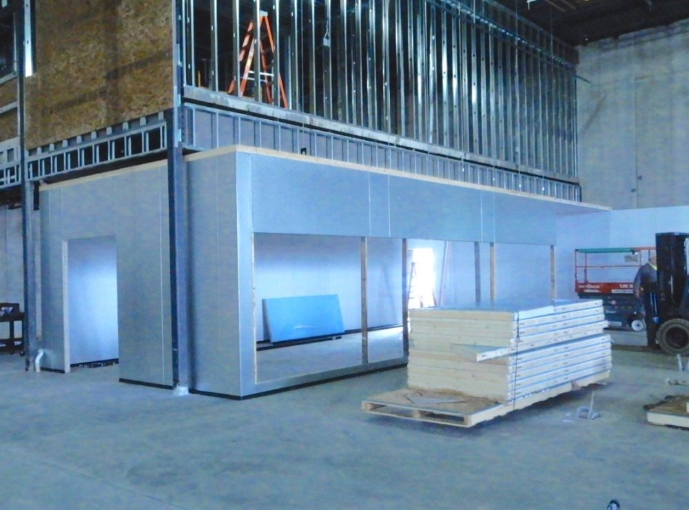 Walk-In Box Construction