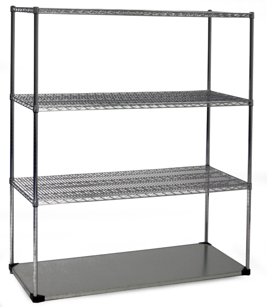Solid Base Shelving