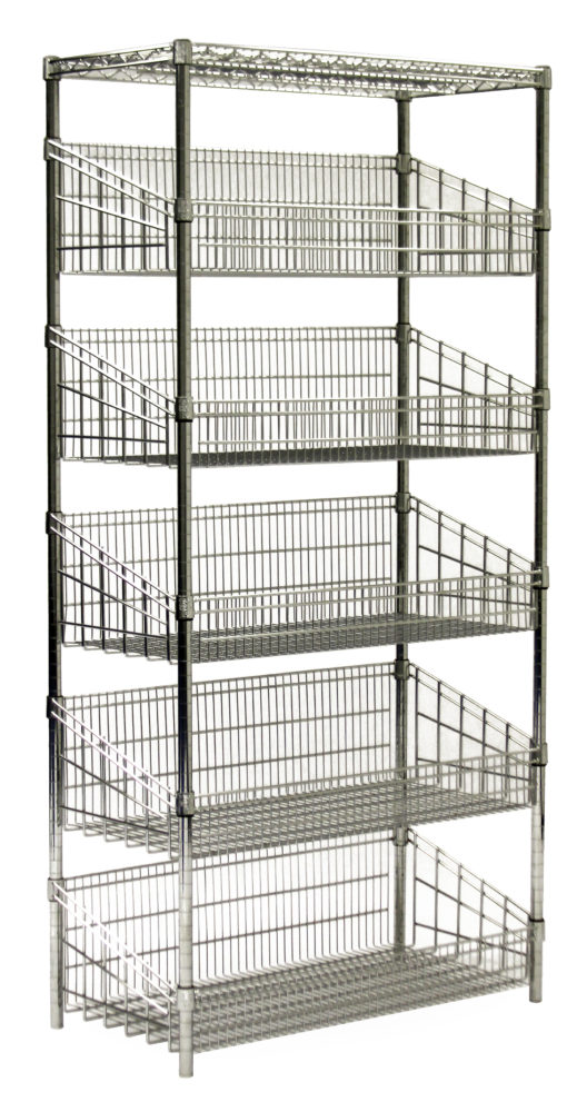 Stacking Basket Shelving