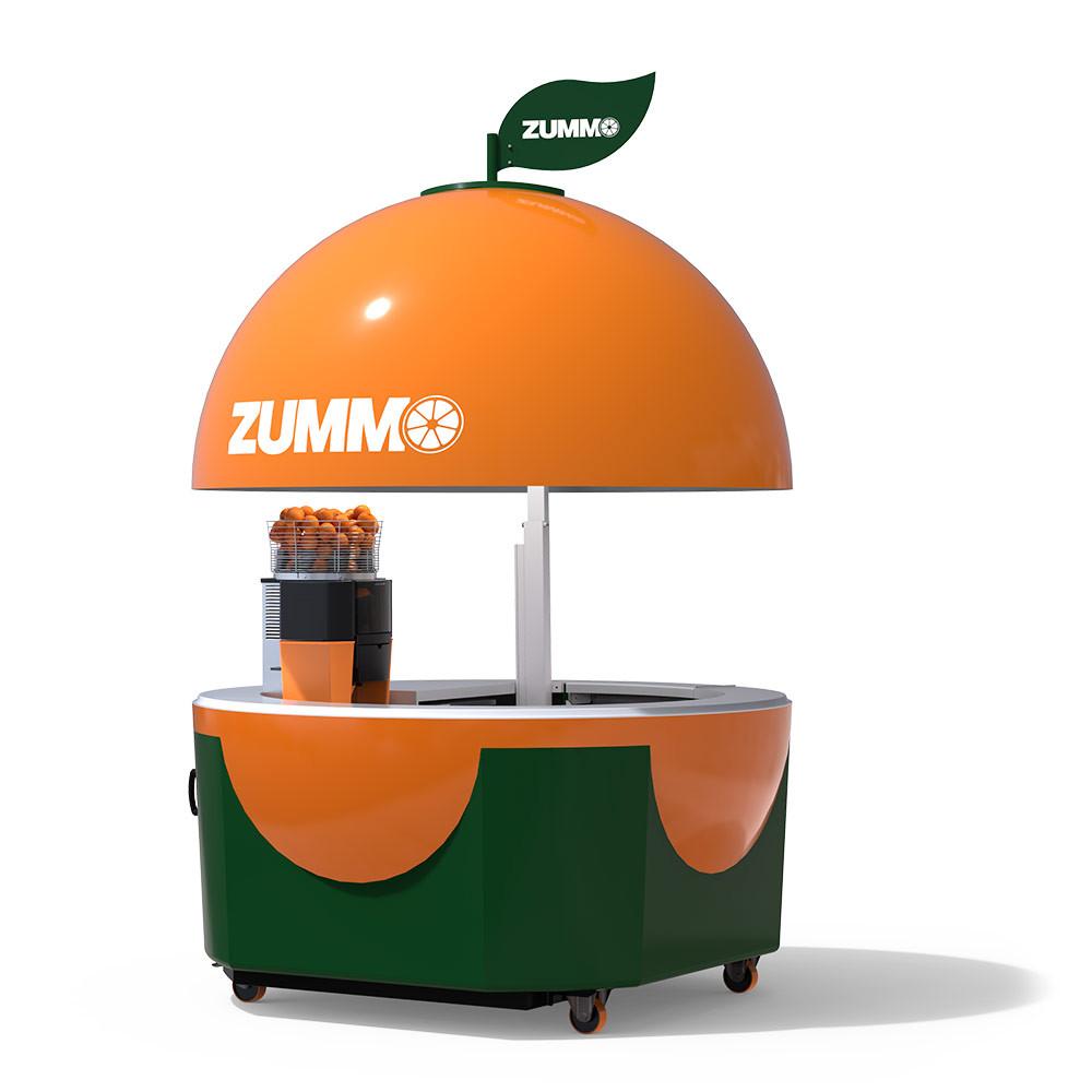 Custom juice machine