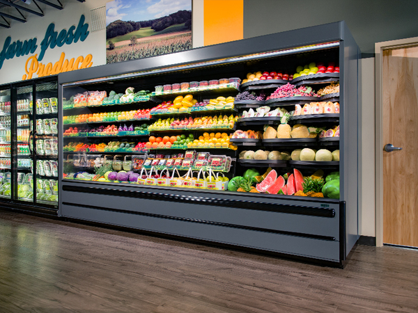 Refrigerated Produce Case