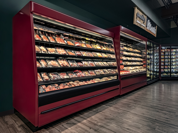 Refrigerated Meat Case