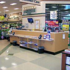 Royston Customer Service Counter
