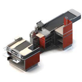 Extend-A-Belt Checkstand